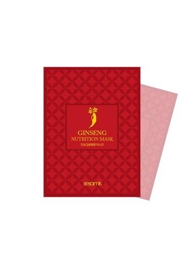 Sesamis Ginseng - Kore Ginseng Özlü Yoğun Besleyici Maske Renksiz